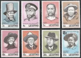 Lesotho,  Scott 2015 # 183-190,  Issued 1975,  Set Of 6,  MNH,  Cat $ 2.00,  IWY - Lesotho (1966-...)
