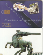 ARMENIA(chip) - Monument, ArmenTel First Issue 50 Units, Sample(no CN)