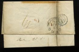 1838  Lettre De PARIS Vers LONDON - Marcophilie (Lettres)