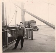 Magirus Deutz LKW Kölner Rheinbrücke 1956 - Automobiles
