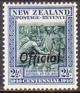 NEW ZEALAND 1940 SG O145 2½d MNH Official Centennial - Officials