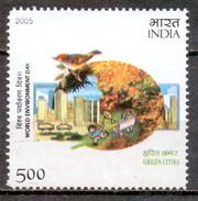 India 2005 World Environment Day (1v) MNH (M-170)