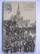 56 - SAINTE ANNE D'AURAY - CONGRES DE LA JEUNESSE BRETONNE (5 JUIN 1906) - FORMATION DE LA PROCESSION - Sainte Anne D'Auray
