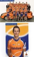Cyclisme Carte Postale  Team   RABOBANK 1999  Complet - Radsport