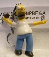 MONDOSORPRESA, (SC55SM) SIMPSON  PORTACHIAVI, HOMER FIGURA ALTA 8cm 1990 - Cartoni Animati