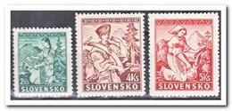 Slowakije 1939, Postfris MNH, Costumes - Unused Stamps