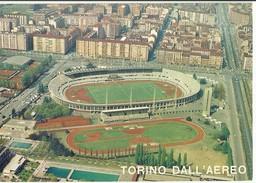 Torino Dall'aereo - Lo Stadio Comunale - 1985 - Timbro Italia '85 Esposizione Mondiale Filatelia, Roma - Storia Postale - Stadiums & Sporting Infrastructures