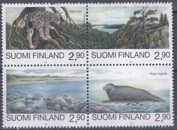 FINLANDIA 1995 Nº 1258/61 USADO (NO MATASELLADO) - Usados