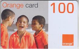 DOMINICAINE - TÉLÉCARTE - GSM & RECHARGE ***  ORANGE - 100 ***