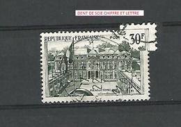 * 1959 N° 1192  PALAIS DE L'ELYSEE A PARIS OBLITÉRÉ - Errors & Oddities