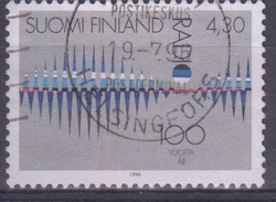 FINLANDIA 1996 Nº 1303 USADO - Usados