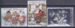 FINLANDIA 1996 Nº 1331/33 USADO - Gebraucht