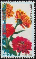 GUINEA EQUATORIAL - SW1797 Zinnia Elegans / Used Stamp - Equatorial Guinea