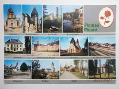 Postcard Plateau Picard Multiview Ravenel Froissy Breteuil Paillart Bulles Etc My Ref B2716 - Other Municipalities