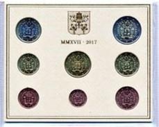 Vatikaanstad 2017    De Nieuwe BU Met De 8 Munten Met De Nieuwe Afbeelding !! Zeldzaam !!! Leverbaar - Livrable !! - Vatican