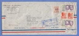 MEXICO 1961 - 5 Fach Frankierung Auf Großen R-LP-Brief Von Mexico > Tulln Austria - Mexiko