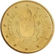 Vatikaanstad 2017    10 Cent  Met De Nieuwe Afbeelding !!  Zeer Zeldzaam - Extréme Rare !!!! Leverbaar - Livrable !! - Vatican