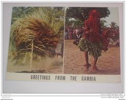 Refboite 95 . Afrique Gambia Gambie Danse - Gambie