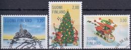 FINLANDIA 1998 Nº 1423/25 USADO 1º DIA - Gebraucht