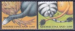 FINLANDIA 1999 Nº 1430/31 USADO - Gebraucht