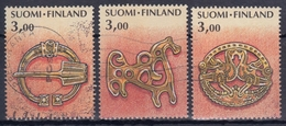 FINLANDIA 1999 Nº 1432/34 USADO - Gebraucht