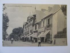 Carte Postale La Baule-Magasins Avenue De La Gare /French Unused Postcard About 1910 - La Baule-Escoublac