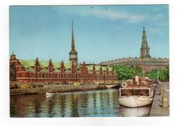 Cpm KOBENHAVN Borsen Og Christiansborg Slot - Denmark