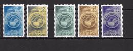 Mi.No. 553 - 557  Suriname  MNH - Surinam
