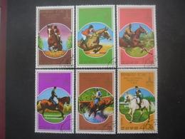 COREE DU NORD Série N°1446A Au 1446F Oblitéré - Korea, North