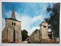 Postcard Toulx Sainte Croix Creuse L'Eglise My Ref B2720