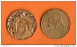 SOUTH AFRICA 1966 5 Johannesburg Penning, C341 - Jetons En Medailles