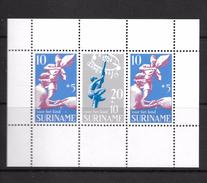 Mi.No. Block 9 Suriname  MNH - Surinam