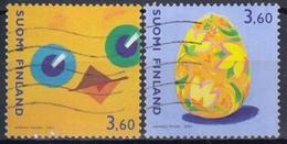 FINLANDIA 2001 Nº 1526/27 USADO - Finlandia