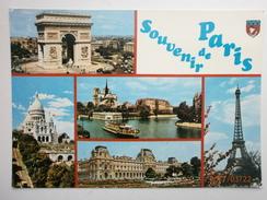 Postcard Souvenir De Paris Mulriview My Ref B2721