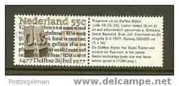 NEDERLAND 1977 MNH Stamp(s) Delft Bible 1131 #1973 - Period 1949-1980 (Juliana)