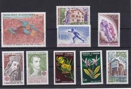 AÑO 1980 COMPLETO DE SELLOS DE ANDORRA FRANCESA EN NUEVO - Andorra Francesa