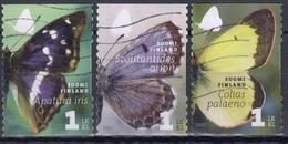 FINLANDIA 2007 Nº 1827/29 USADO - Finlandia