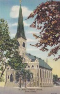 Illinois Joliet St Mary's Catholic Church Curteich