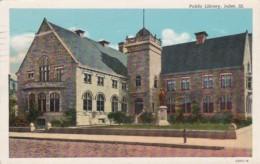 Illinois Joliet Public Library 1946 Curteich