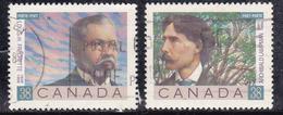Canada 1989 N° Y&T : 1101 Et 1102 Obl.
