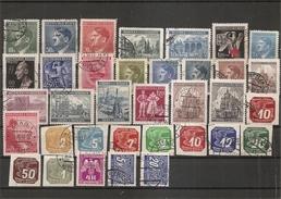 Bohème -Moravie -Période De Guerre ( Lot De Timbres Divers Différents Oblitérés) - Used Stamps