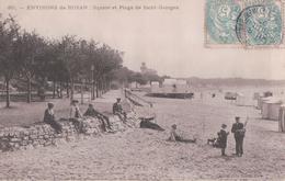 ENVIRONS De ROYAN: Square Et Plage De Saint-Georges (1905) - France