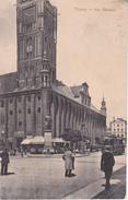 AK Thorn - Torun - Ostpreussen - Am Rathaus - Feldpost - 1915 (27998) - Ostpreussen