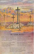 AK Die Fernen Gräber - Südwestafrika - Patriotika - Kolonialkriegerdank - 1918 (28000) - War 1914-18
