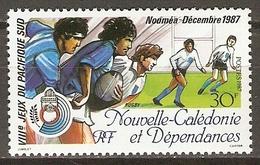 NOUVELLE  CALEDONIE     -     1987 .   Y&T N° 547 ** .    Rugby - Nouvelle-Calédonie