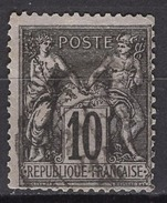 FRANCE 1877/1900 -  Y.T. N° 89 - OBLITERE - FD649 - 1876-1898 Sage (Type II)