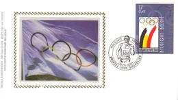 01478 Bélgica Fdc 2906/08 Jogos Olímpicos Paraolimpíadas - 1991-00