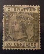 GIBRALTAR  GIBILTERRA 20 C. - Groot-Brittannië (oude Kolonies En Protectoraten)