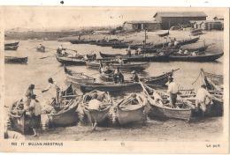 -33------  GUJAN MESTRAS  Le Port Dos Avec Quelques Salissure écrite - Gujan-Mestras