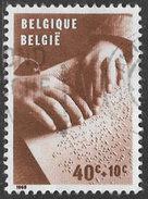 Belgium SG1825 1962 Disabled Children Relief Funds 40c+10c Good/fine Used [33/28670/6D] - Belgium